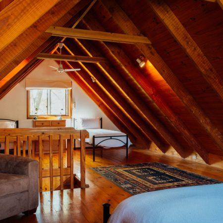 BEDROOM 2 upstairs (loft)