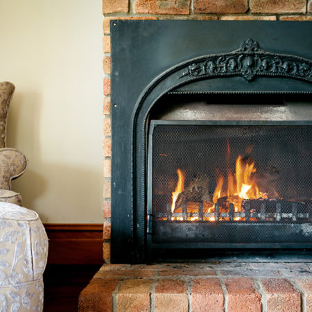 Nothing beats a fireplace on a cold winter's night